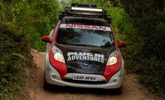 Un Nissan Leaf será el primer eléctrico en el Rally de Mongolia - SoyMotor.com