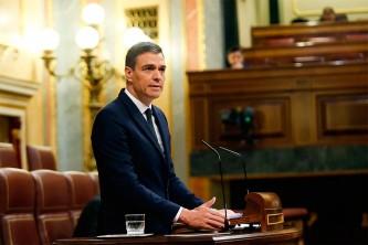 El presidente Pedro Sánchez en el Pleno del Congreso - SoyMotor.com