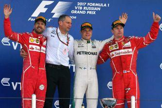 Podio del GP de Rusia - SoyMotor