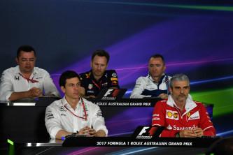 GP de Australia F1 2017: Rueda de prensa del viernes - SoyMotor