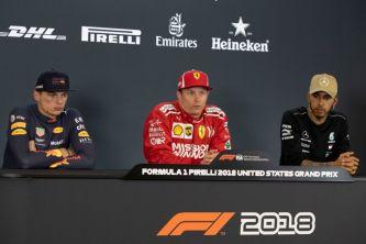 Kimi Räikkönen, Max Verstappen y Lewis Hamilton – SoyMotor.com