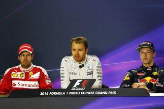 Sebastian Vettel, Nico Rosberg y Daniil Kvyat - LaF1