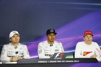 Rosberg y Räikkönen flanquean a Hamilton, el 'Poleman' de Canadá - LaF1