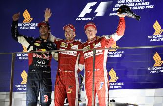 Podio del Gran Premio de Singapur - LaF1