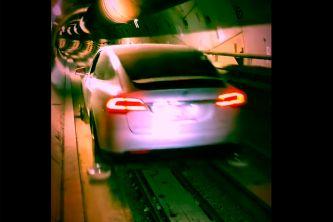 Un Tesla Model X ya 'circula' por los túneles de Elon Musk - SoyMotor.com