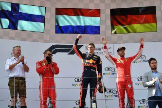 Podio del GP de Austria F1 2018 - SoyMotor
