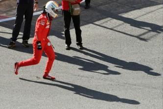 Ferrari paró a Vettel en Rusia por riesgo de electrocución - SoyMotor.com