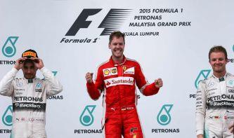 Podio del Gran Premio de Malasia F1 2015 - LaF1