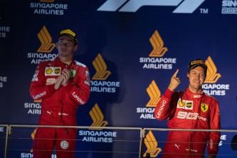 Sebastian Vettel gana el GP de Singapur F1 2019 - SoyMotor.com
