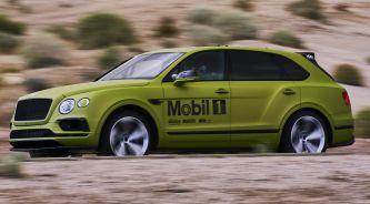 Todo listo: Bentley se enfrentará al Pikes Peak con un Bentayga W12 biturbo