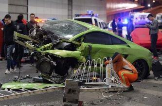 Dos jóvenes protagonizan un accidente digno de Fast & Furious