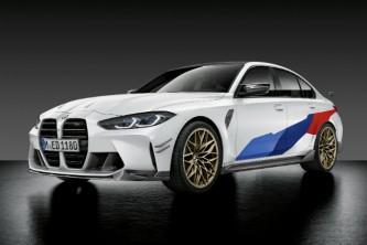 BMW M3 2021: desvelados los accesorios M Performance