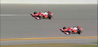 Vettel y Räikkönen llevan la F1 hasta Daytona por primera vez