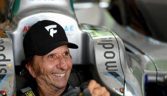 """Fittipaldi prueba un Fórmula E: """"Me recuerda a mis tiempos"""""""