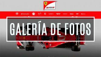 Ferrari SF70-H: las fotografías de la presentación