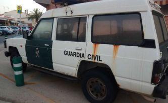 Así es el lamentable estado de algunos coches de la G. Civil de la Comunidad Valenciana