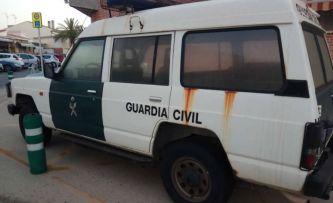 Algunos coches de la Guardia Civil de la Comunidad Valenciana están en un estado deplorable