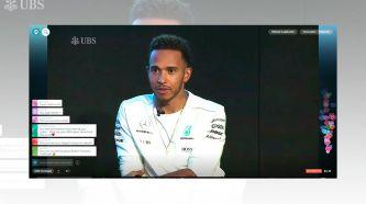 """Hamilton: """"No me gusta que mi compañero estudie mis datos"""""""