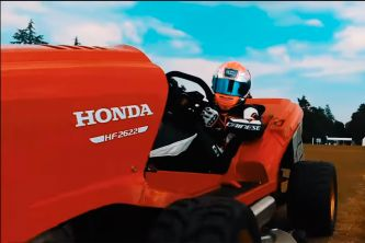 Honda Mean Mower: el nuevo cortacésped de Goodwood