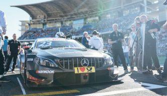 Mercedes se despide del DTM con un test en Jerez con Juncadella