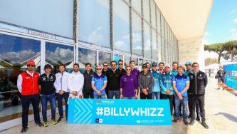 La FE organiza una carrera de karts benéfica con Billy Monger