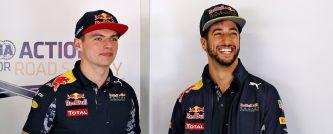 """Ricciardo: """"Max es una gran motivación para mí, como lo fue Vettel"""""""