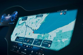 VÍDEO: el interior del Mercedes-Benz EQS se insinúa