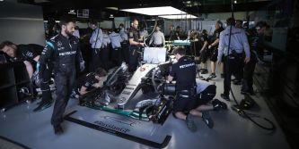 Mercedes prepara un nuevo motor con tokens para el GP de Canadá