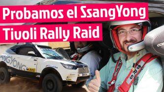 VÍDEO: Nos subimos al SsangYong Tivoli Rally Raid de Óscar Fuertes