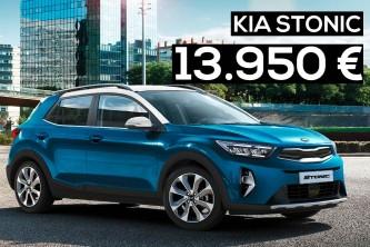 Ofertas en el Kia Stonic desde 13.950 euros