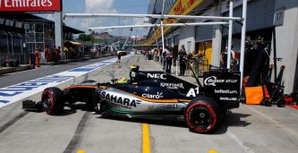 "Pérez: ""Es bastante probable que siga en Force India"""