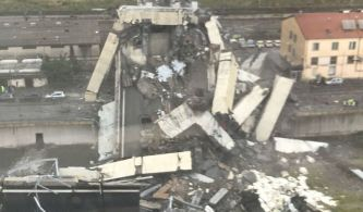 Tragedia en Génova: se derrumba un puente de la autopista A10