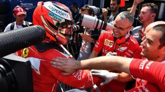 Primera Pole de Räikkönen desde 2008, Vettel 2º, Sainz 6º