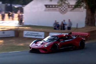 Así ha debutado el Brabham BT62 en Goodwood