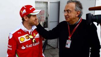 Marchionne no añade más presión a Ferrari, según Vettel