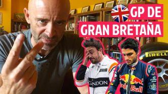Sobre Silverstone, Alonso y Sainz
