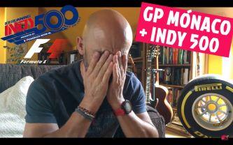 GP Mónaco F1 + Indy 500 = domingo de ilusiones