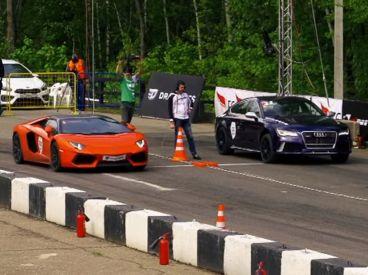 El duelo está servido. Lamborghini Aventador vs Audi RS7 - SoyMotor