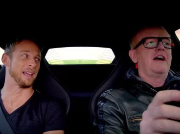 Chris Evans y Jenson Button comparten una jornada de pilotaje en Top Gear - SoyMotor