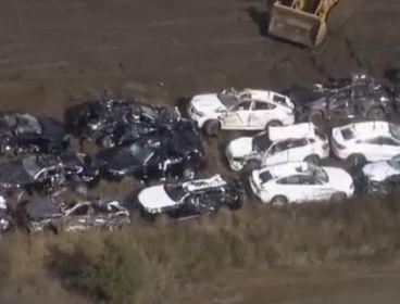 120 BMWs recién salidos de fábrica completamente destrozados - SoyMotor.com