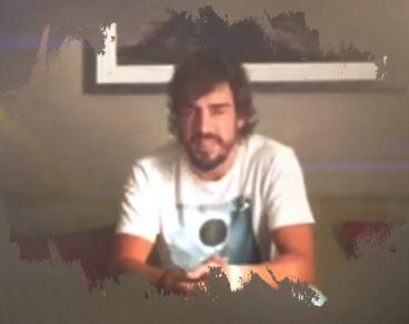 Fernando Alonso aparece en el último videoclip de Julio Iglesias