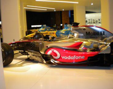 Así lucía la exposición que Alonso montó en Madrid el pasado año - LaF1