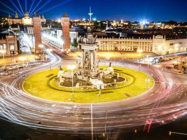 Plaza de España, en Barcelona - LaF1