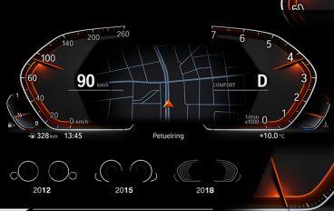 BMW presenta un nuevo cuadro de instrumentos digital con conectividad 5G - SoyMotor.com