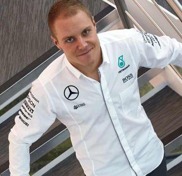 Valtteri Bottas ya viste los colores de Mercedes AMG - SoyMotor