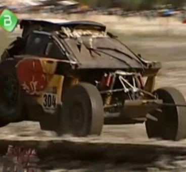 Así ha quedado el Peugeot de Carlos Sainz - SoyMotor