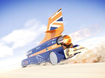 El Bloodhound SSC quiere superar el anterior récord de velocidad fijado en 1.228 km/h - SoyMotor