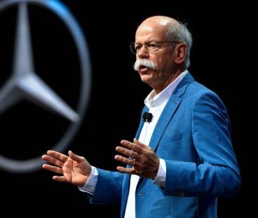 Dieter Zetsche durante un acto de Mercedes - SoyMotor