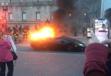 Lamborghini Huracan Performante incendio - SoyMotor.com