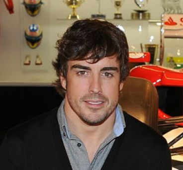 Fernando Alonso en el 'Fernando Alonso Collection' - LaF1